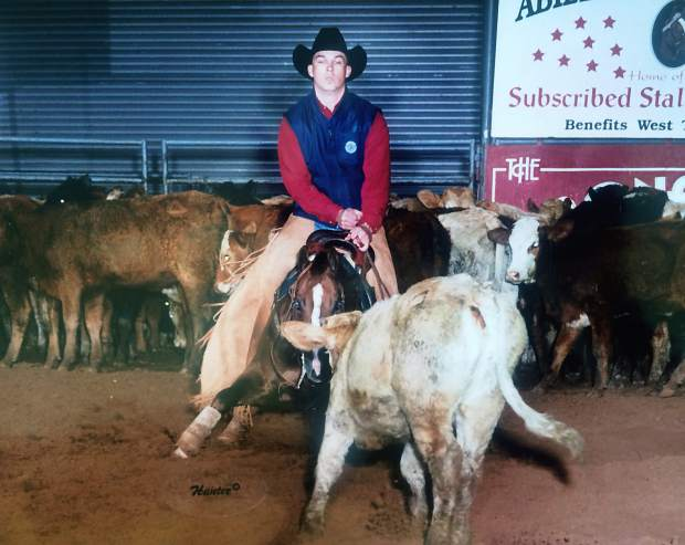 JUSTICE FOR DUAL PEPPY: Former champion cutting horse found