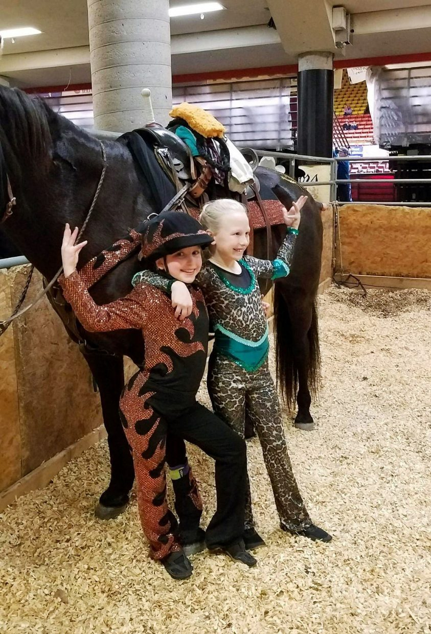Trick riding dreams: Two South Dakota cowgirls perform at