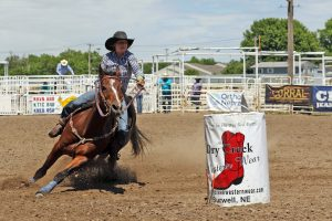 Freshman Jenae Whitaker is top Nebraska High School barrel racer