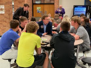 Rep. Dusty Johnson fights for local beef in S.D. schools